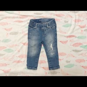 Gap Baby Girl Distressed Jeans